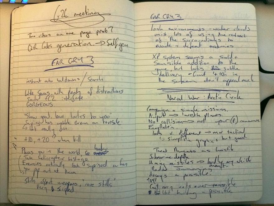Far Cry 3 Notes