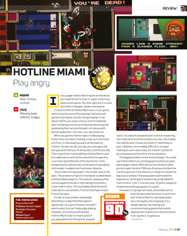 Hotline Miami - Review