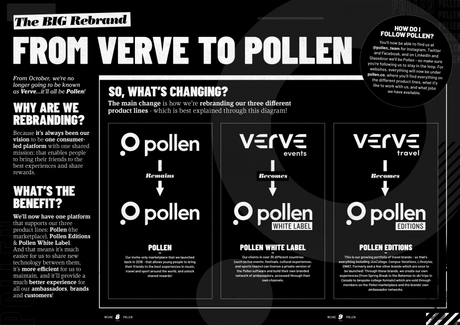 Pollen Rebrand